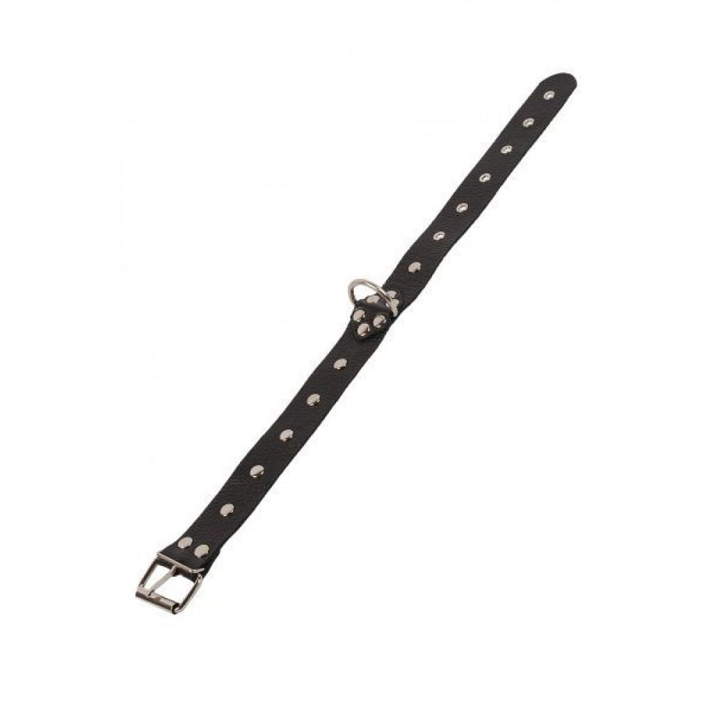 БДСМ ошейники - Ошейник Dominant Collar, BLACK 2