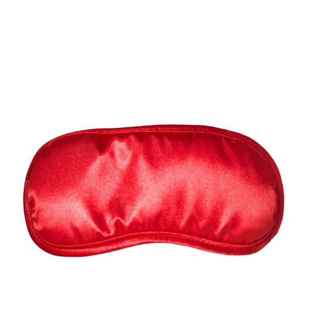 Маска для БДСМ - Маска на глаза Satin Love Mask, RED 1