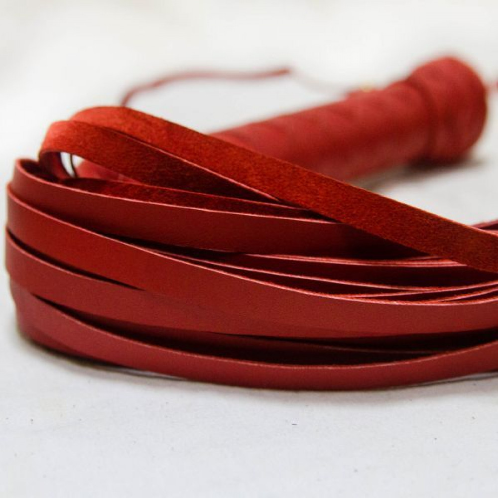 БДСМ плети, шлепалки, метелочки - Флогер Big Boss, RED 1
