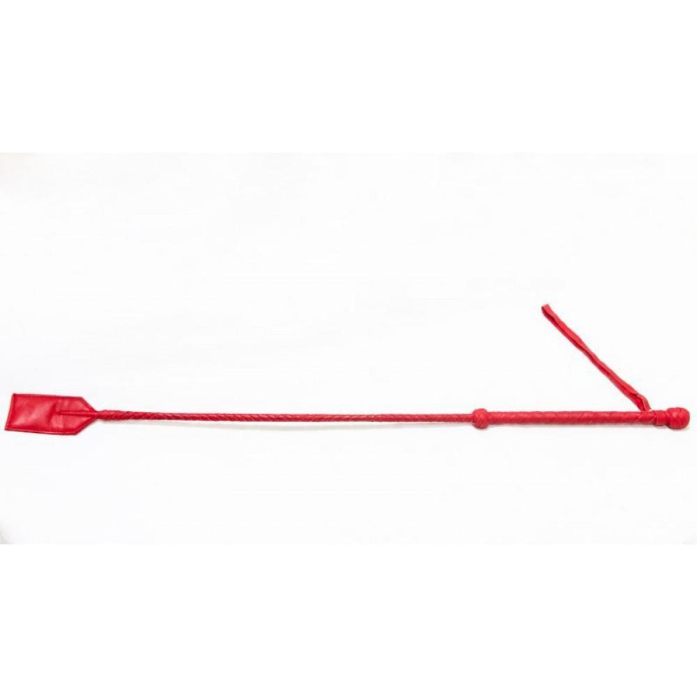 БДСМ плети, шлепалки, метелочки - Стек Hard Chop, RED