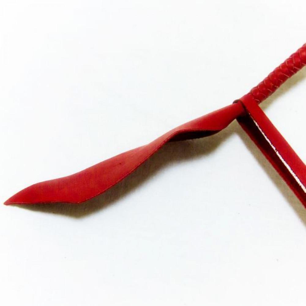 БДСМ плети, шлепалки, метелочки - Плеть Dragon Tail, RED 3