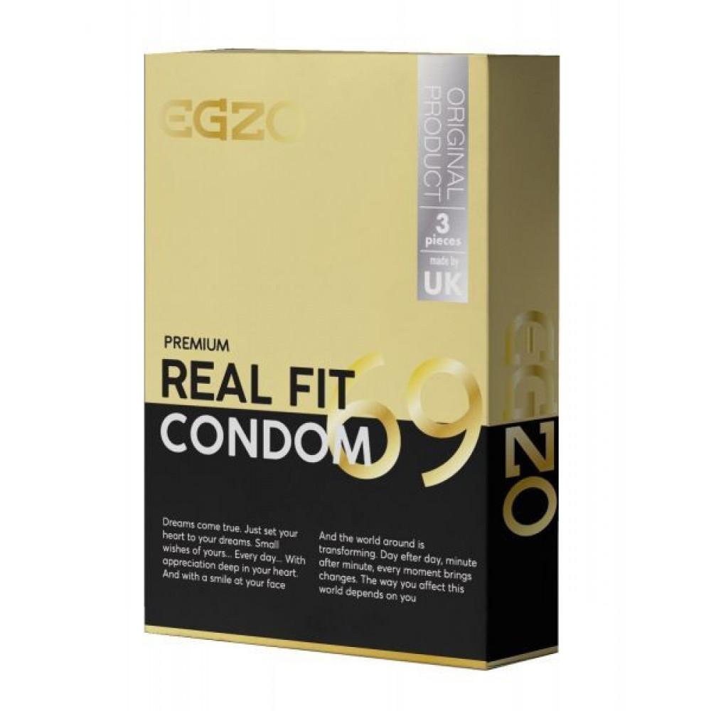 Презервативы - Анатомические презервативы EGZO