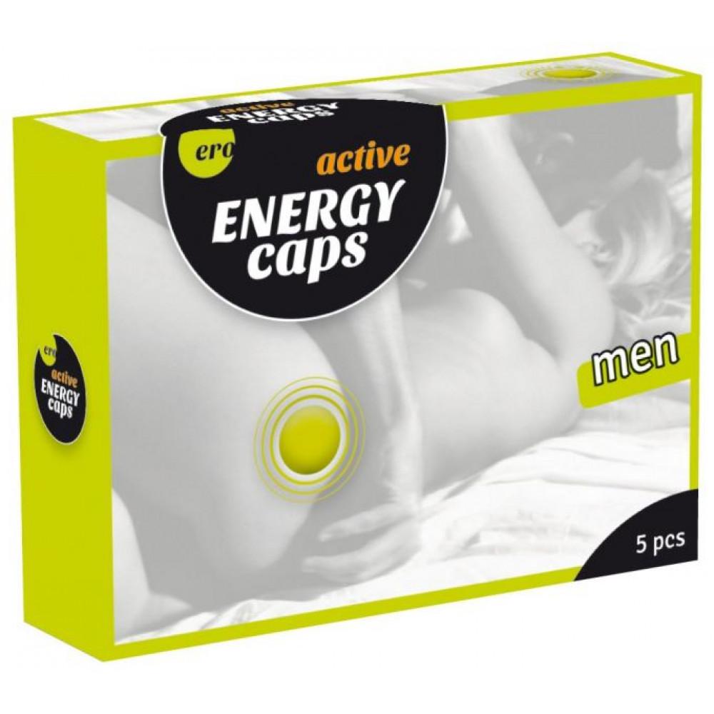 Мужские возбудители - Возбуждающие капсулы для мужчин ERO Energy Caps, 5 шт в упаковке