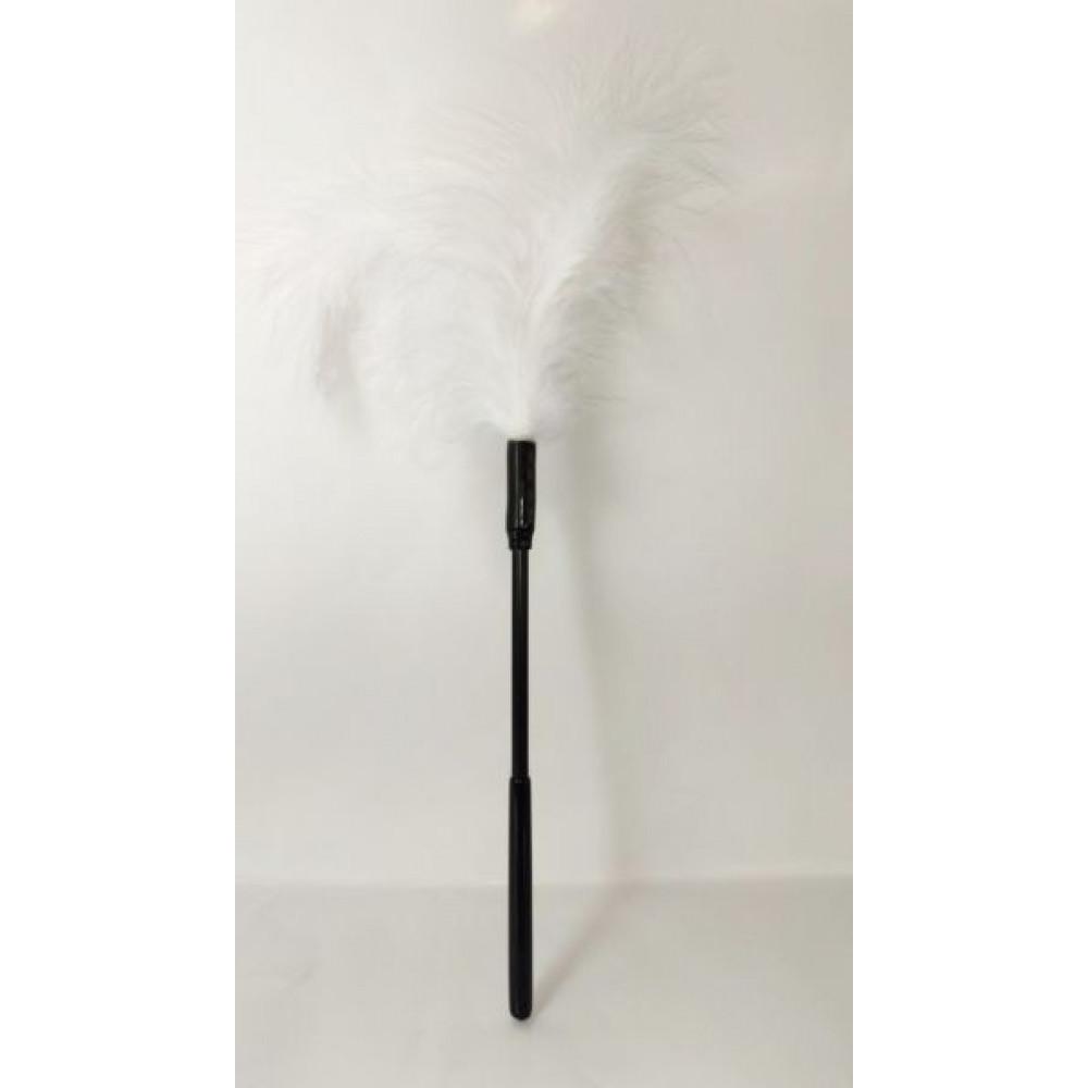 БДСМ плети, шлепалки, метелочки - Перышки для шалостей Long,White