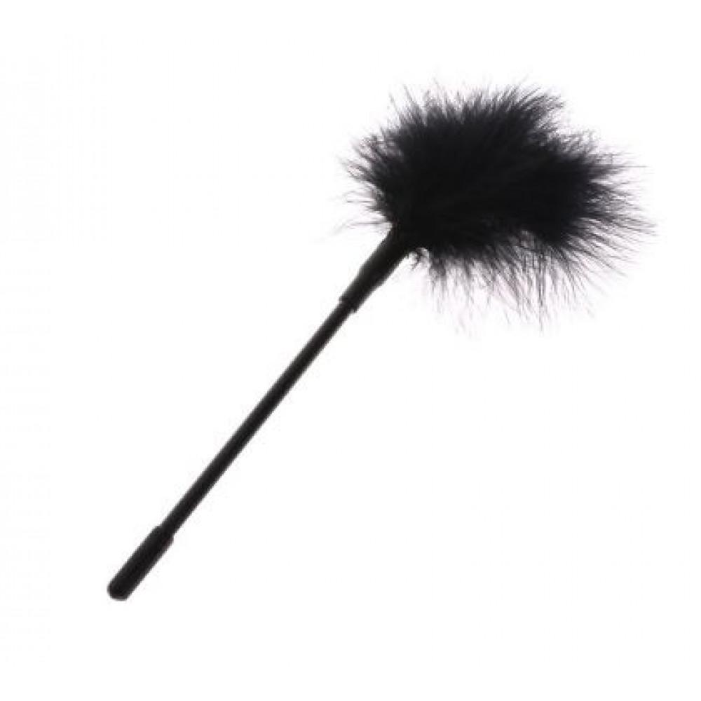 БДСМ плети, шлепалки, метелочки - Перышки для шалостей Long, Black