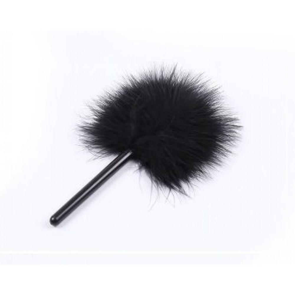 БДСМ плети, шлепалки, метелочки - Перышки для шалостей Short, Black