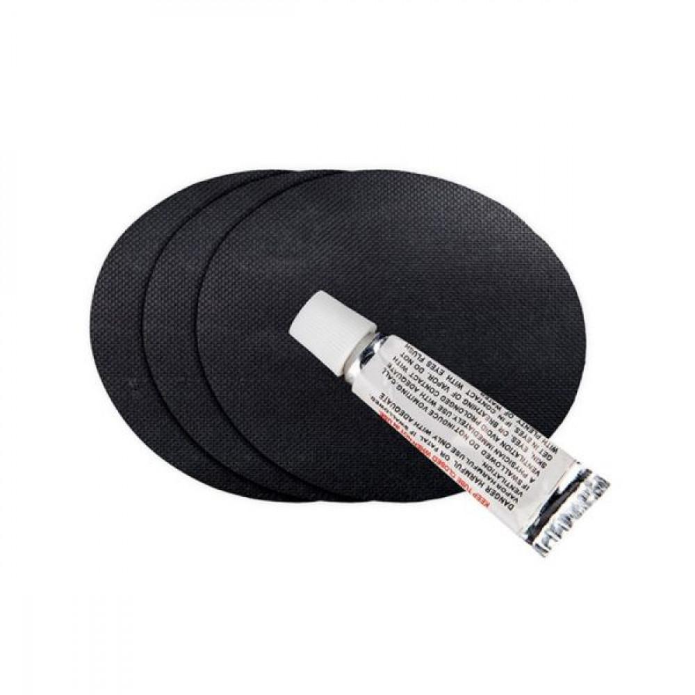 БДСМ аксессуары - Подушка для секса с 2 съемными манжетами DARK MAGIC RAMP WEDGE INFLATABLE CUSHION 3