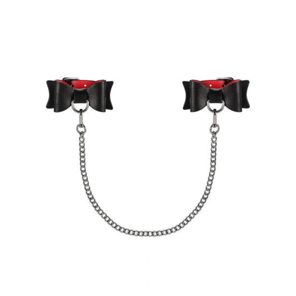 БДСМ наручники - Наручникис бантиками ObsessiveA745Cuffs 1