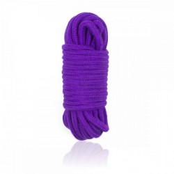 Верёвка бондажная для шибарифиолетовая10 м