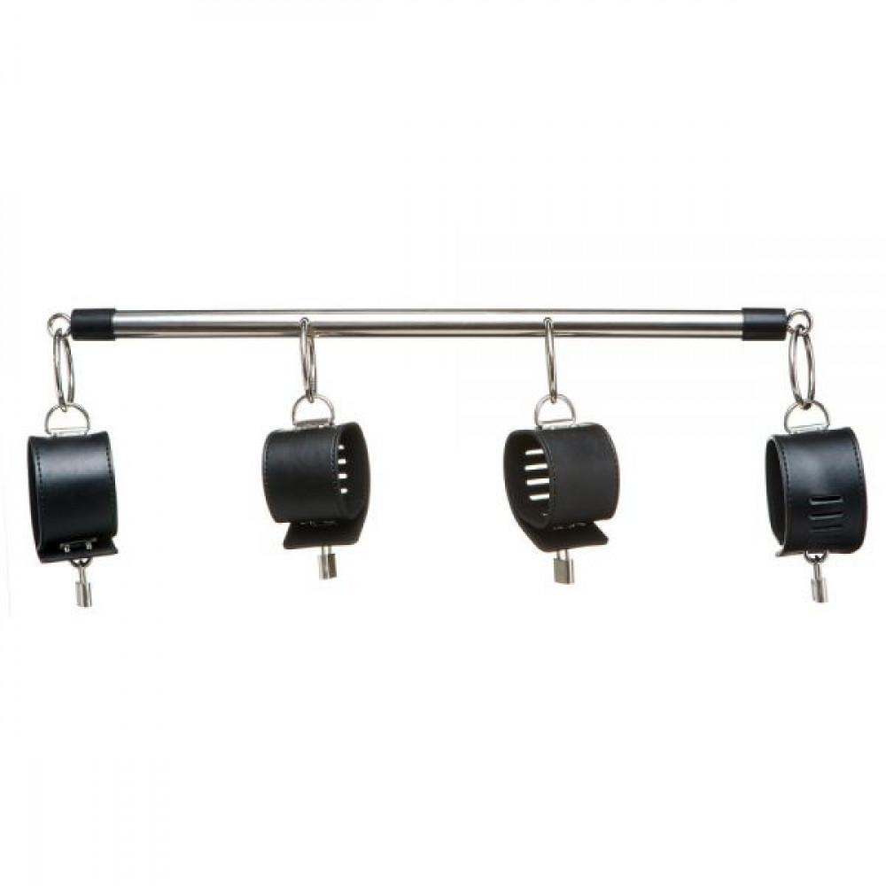 БДСМ наручники - Система фиксации снаручникамиипоножами SPREADER BAR SET
