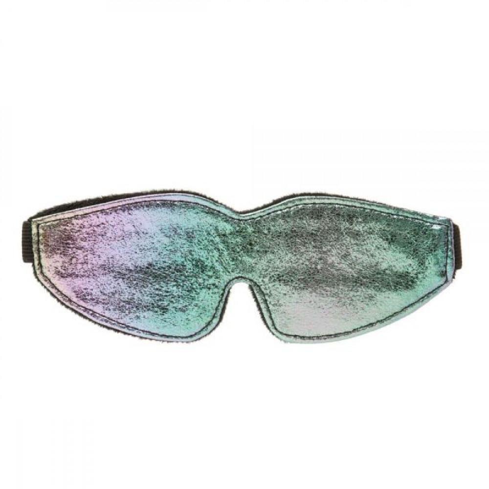 Маска для БДСМ - Масканаглазахамелеон с подкладкой Chameleon Love Mask
