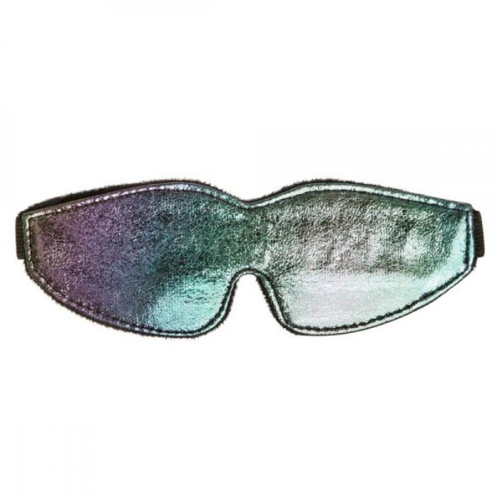 Маска для БДСМ - Масканаглазахамелеон с подкладкой Chameleon Love Mask 2