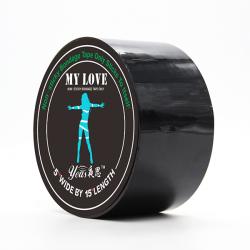 ЛентабондажнаяMyLove Black 15м