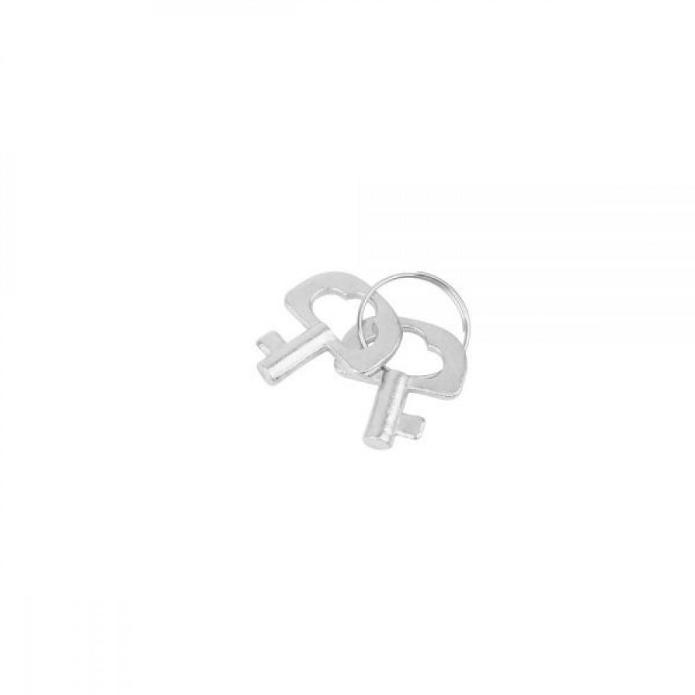 БДСМ наручники - НаручникиметалсмехомчерныеFur-linedHandcuffsHi-BasicChisa 2