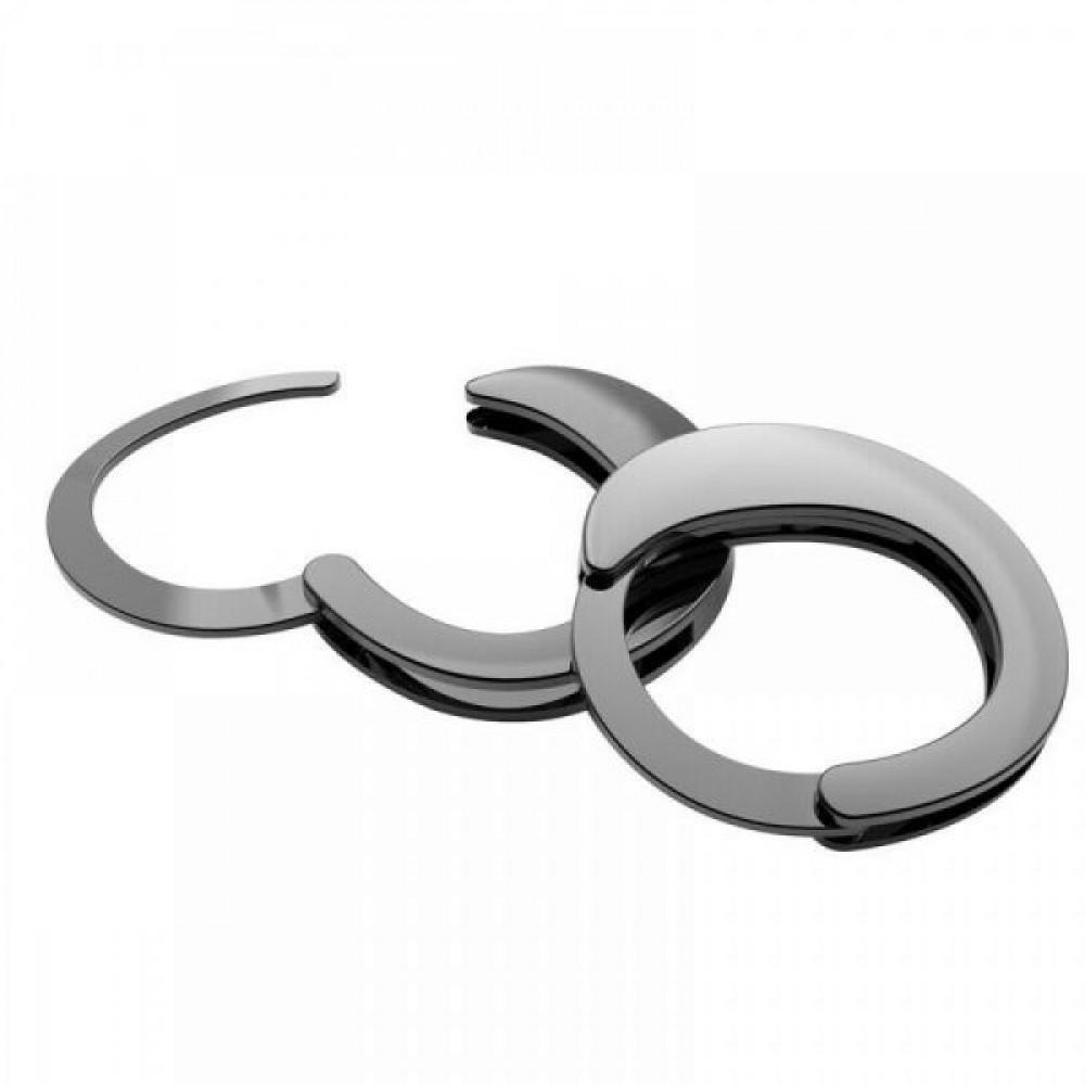 БДСМ наручники - Наручники Разборные Premium Metal  Romfun, Black 4