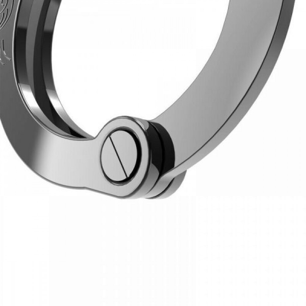БДСМ наручники - Наручники Разборные Premium Metal  Romfun, Black 3