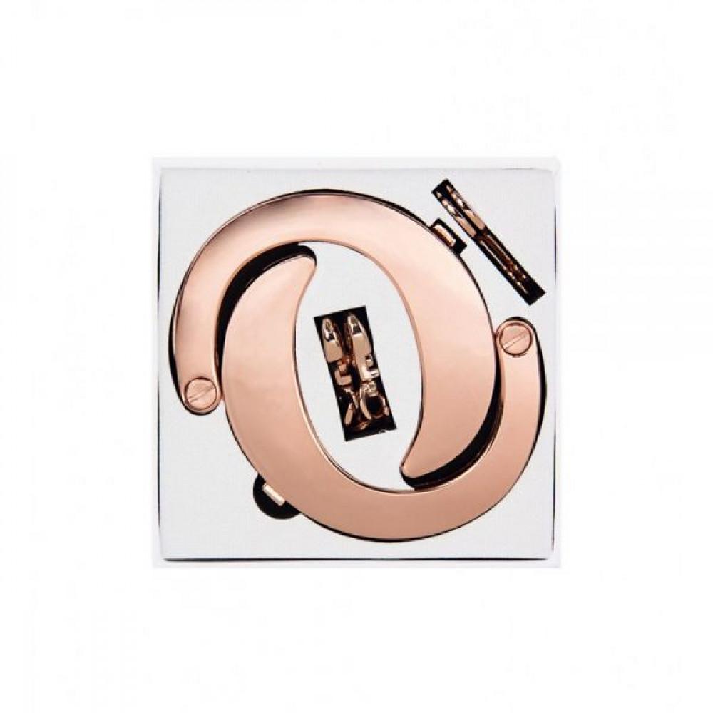 БДСМ наручники - Наручники Разборные Premium Metal Romfun, Gold 3