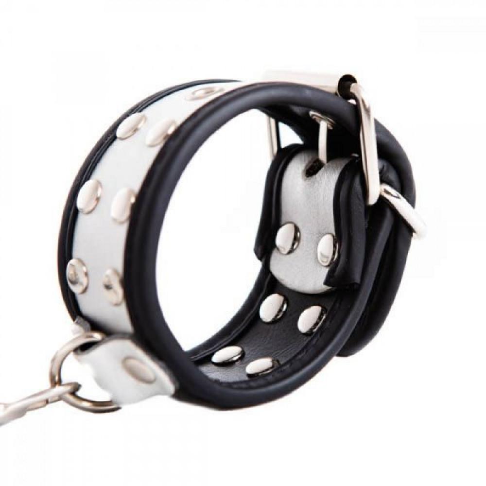БДСМ наручники - Наручники мягкие Hand Cuffs, Silver 2