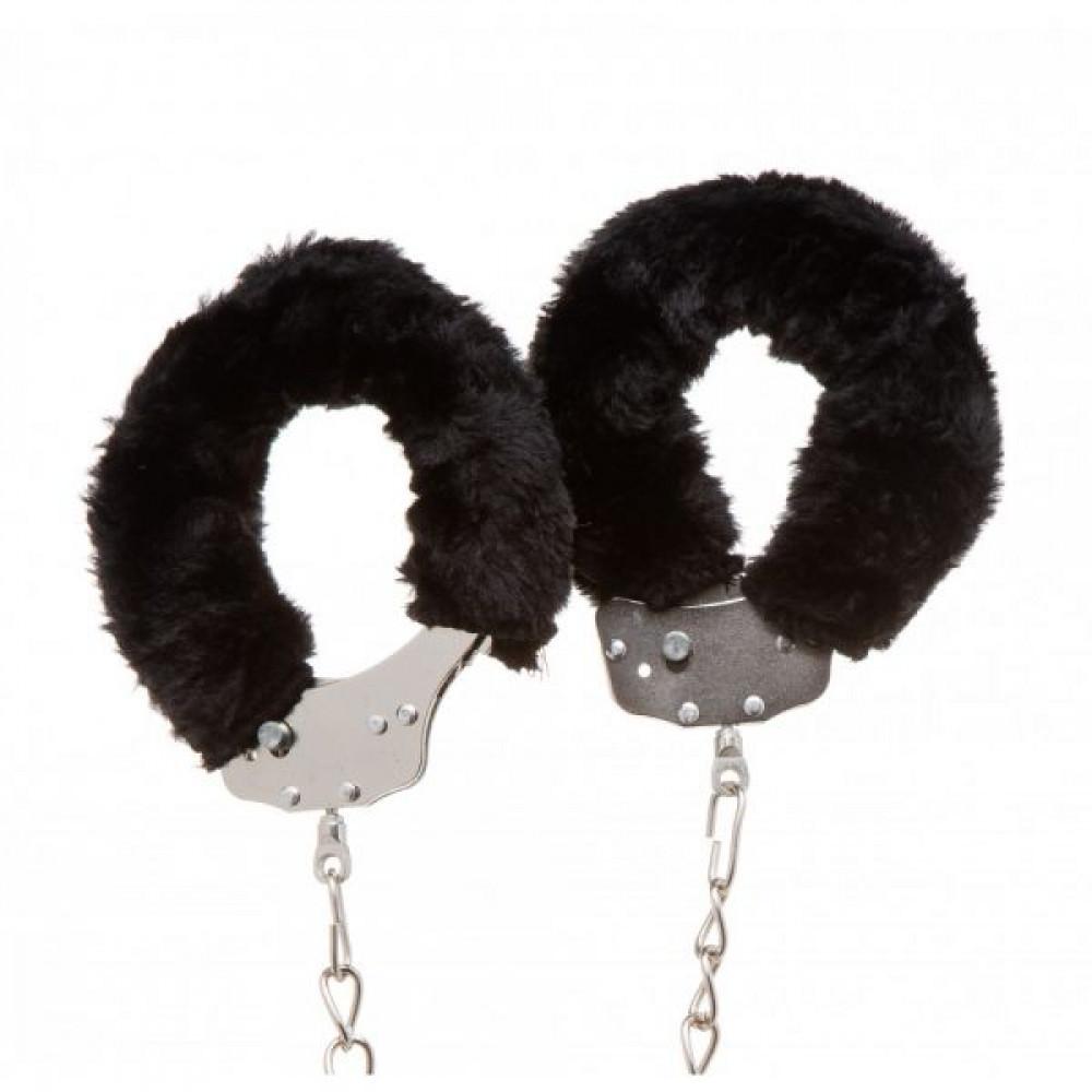 БДСМ наручники - Оковы Ankle Cuffs, Black 1