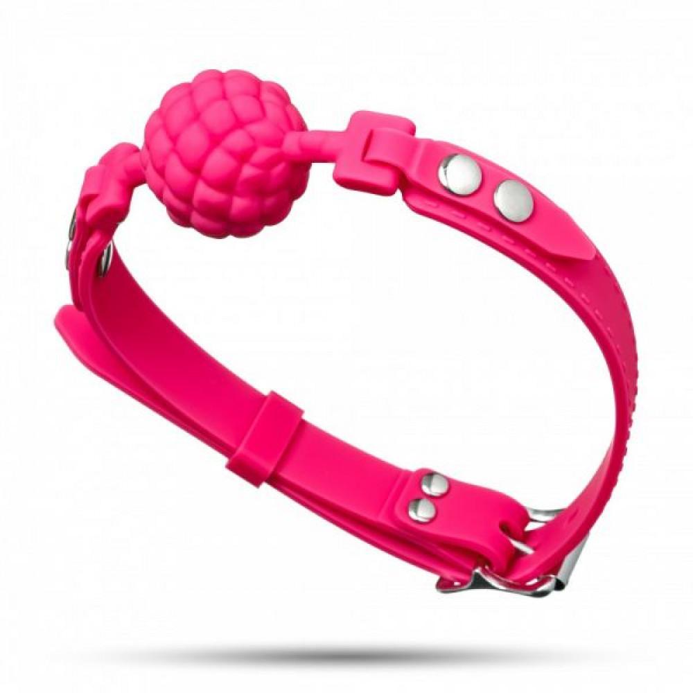 Кляп - Кляп Silicone Ball Gag, Pink 2