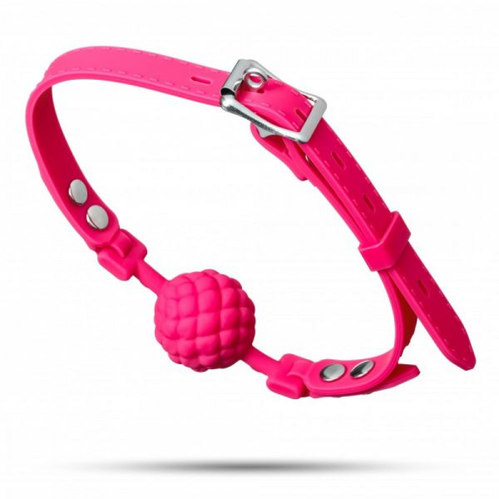 Кляп - Кляп Silicone Ball Gag, Pink