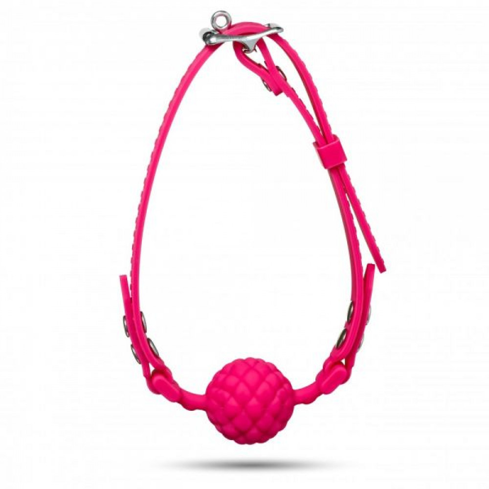 Кляп - Кляп Silicone Ball Gag, Pink 1