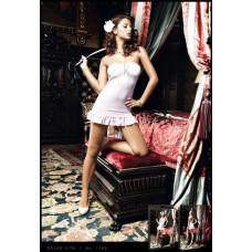 Пеньюар Pink Strapless Ribbon Mini Dress