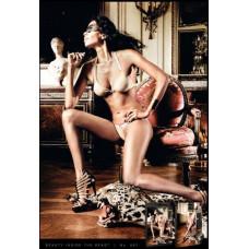 Комплект Champagne Metallic Ring Bikini Set, M/L