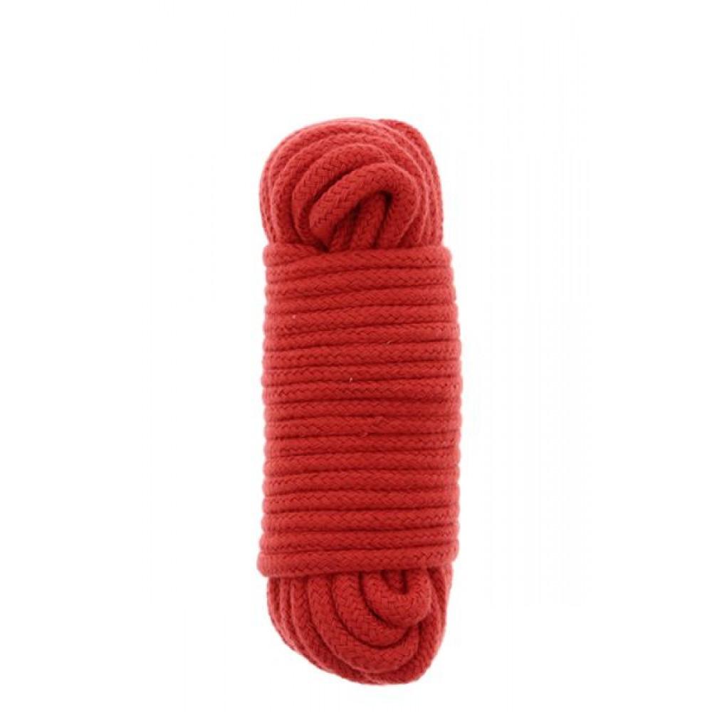 БДСМ наручники - Бондажная веревка BONDX LOVE ROPE - 10M, RED