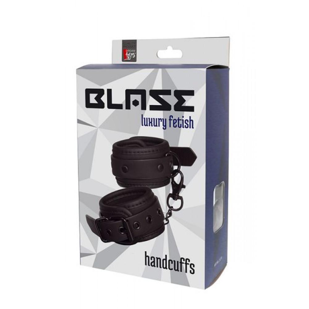 БДСМ наручники - Наручники BLAZE HANDCUFF BLACK 1