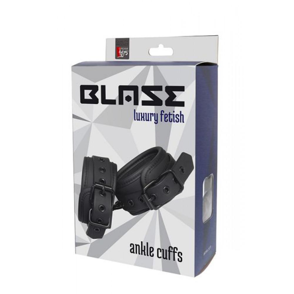 БДСМ наручники - Наручники BLAZE ANKLE CUFF BLACK 1