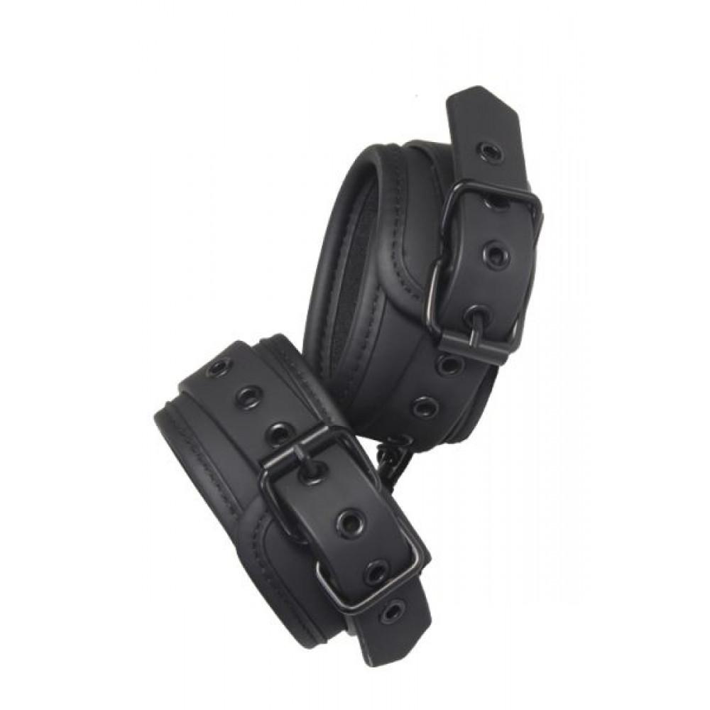 БДСМ наручники - Наручники BLAZE ANKLE CUFF BLACK