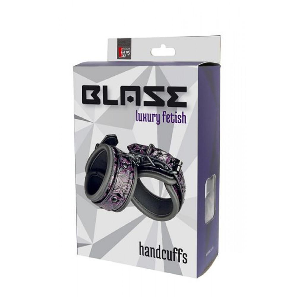 БДСМ наручники - Наручники BLAZE HANDCUFF PURPLE 1