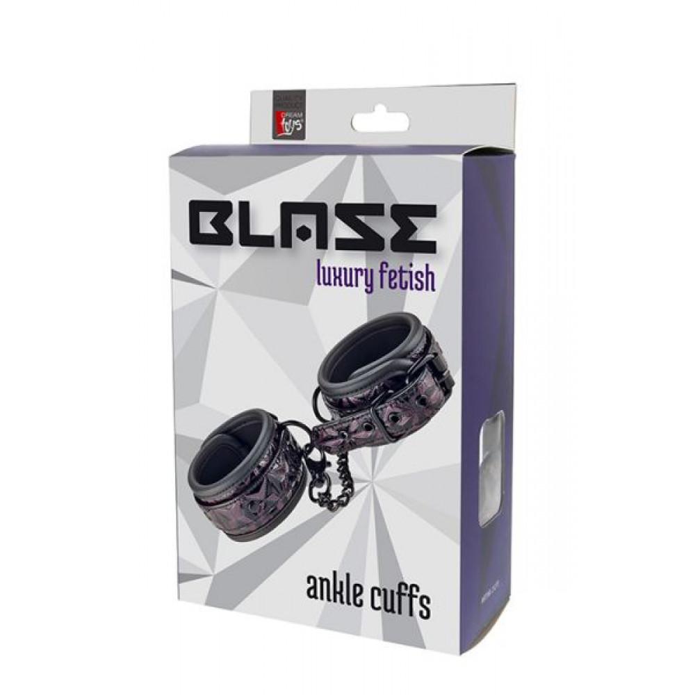 БДСМ наручники - Наручники BLAZE ANKLE CUFF PURPLE 1