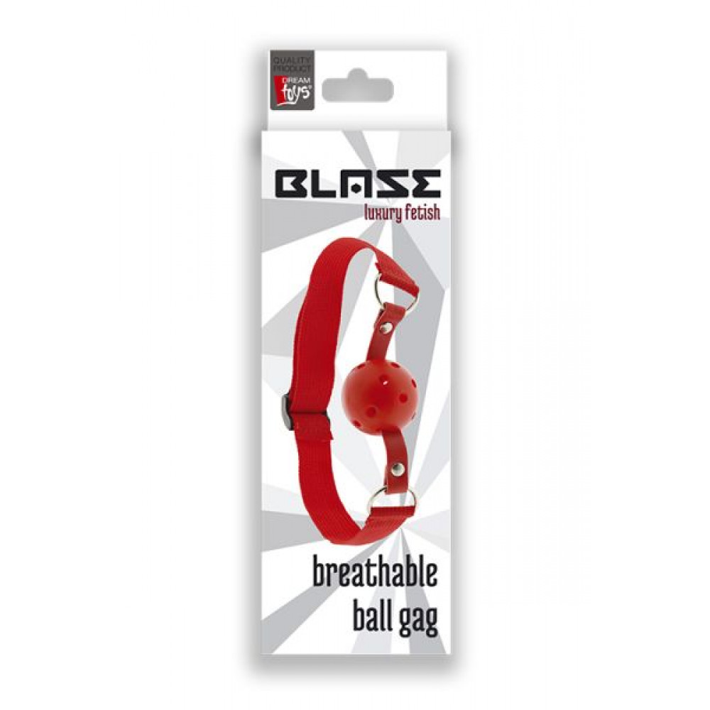 Кляп - Кляп BLAZE BREATHABLE BALL GAG 1