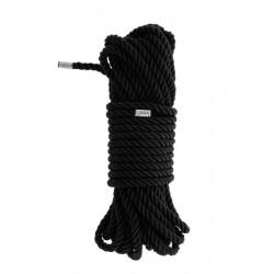 Веревка для бондажа BLAZE DELUXE BONDAGE ROPE 10M BLACK