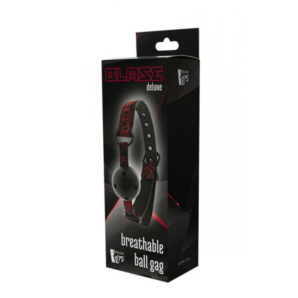Кляп - Кляп BLAZE DELUXE BREATHABLE BALL GAG 1