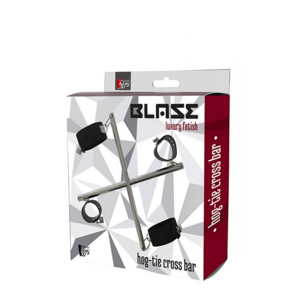 БДСМ наручники - Система фикации BLAZE HOG TIE CROSS BAR 1