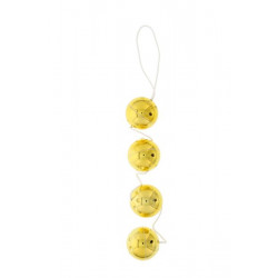 Вагинальные шарики 4 GOLD VIBRO BALLS