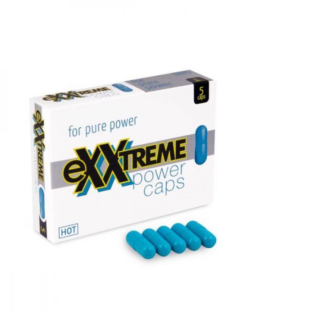 Стимулирующие средства и пролонгаторы - Капсулы для потенции eXXtreme, 5 шт в упаковке