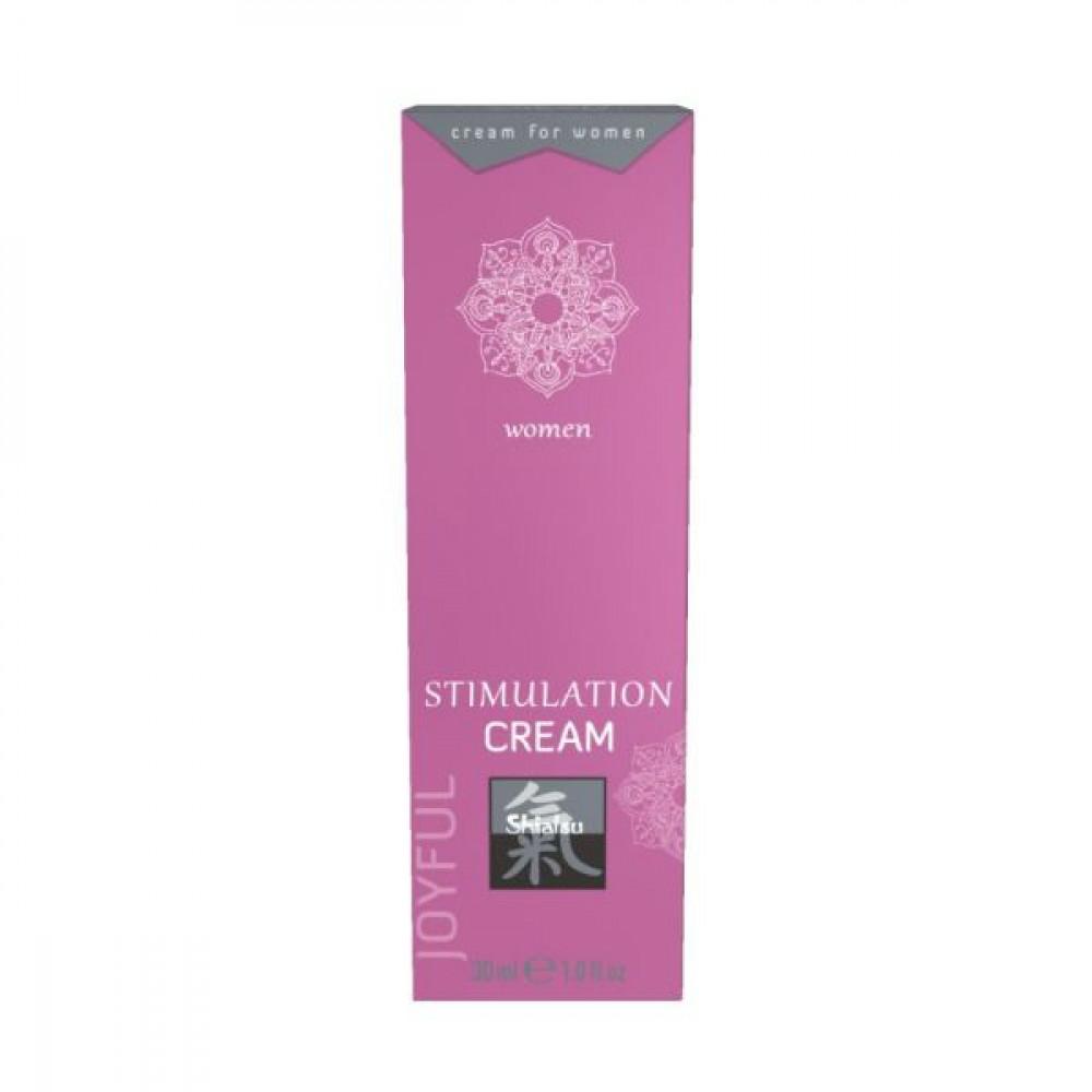 Стимулирующие средства и пролонгаторы - Крем возбуждающий для женщин SHIATSU , 30 мл
