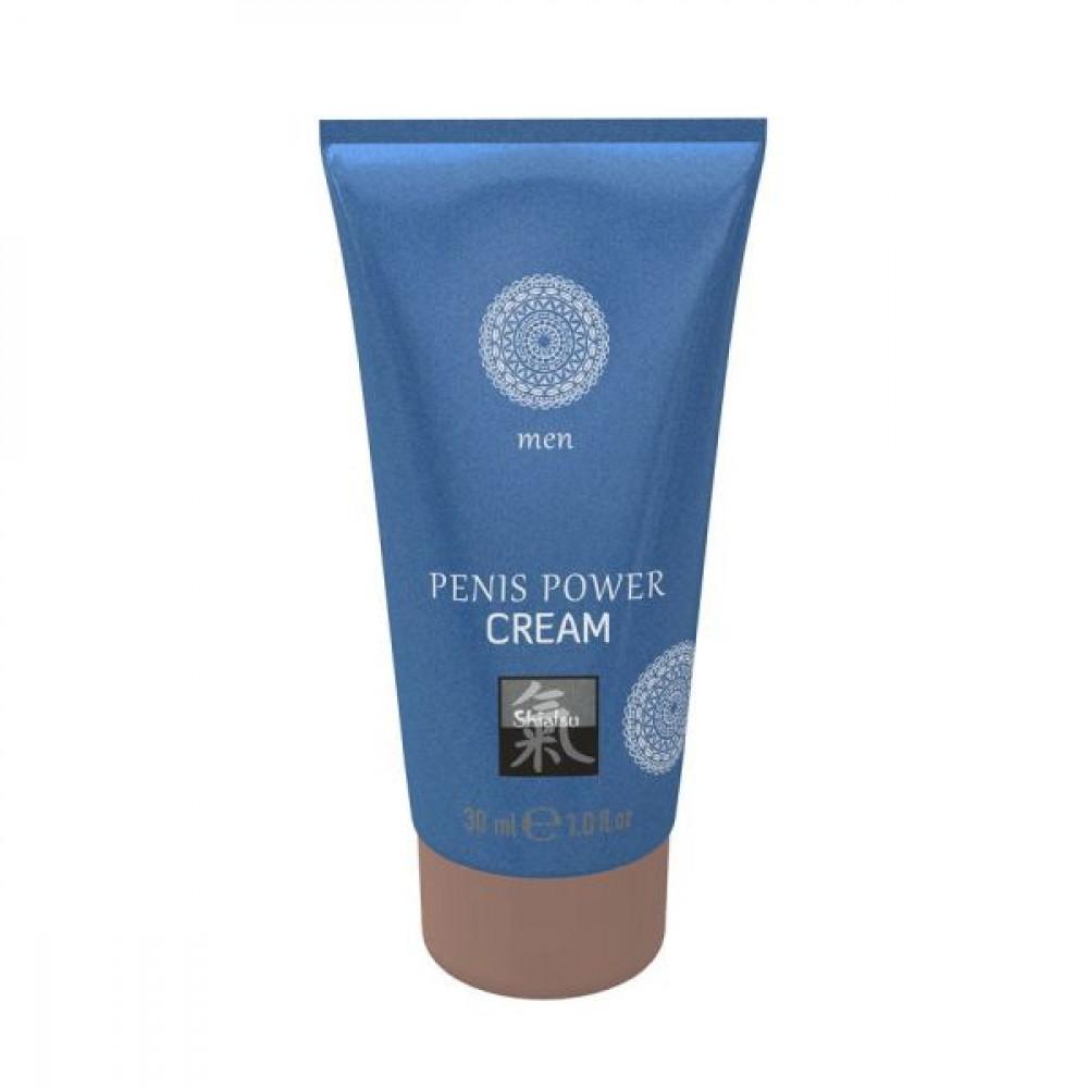 Стимулирующие средства и пролонгаторы - Крем возбуждающий  для мужчин SHIATSU Power Cream, 30 мл 1