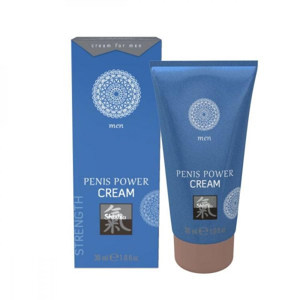 Стимулирующие средства и пролонгаторы - Крем возбуждающий  для мужчин SHIATSU Power Cream, 30 мл