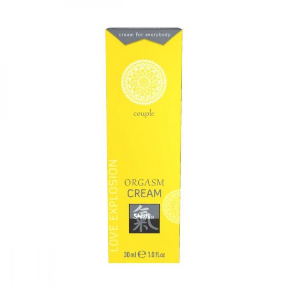 Стимулирующие средства и пролонгаторы - Крем возбуждающий для двоих SHIATSU  Orgasm Cream,30 мл