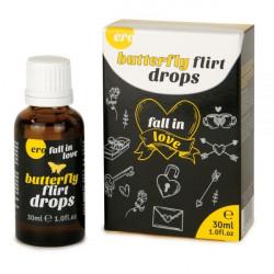 Возбуждающие капли для двоих ERO Butterfly Flirt Drops, 30 мл