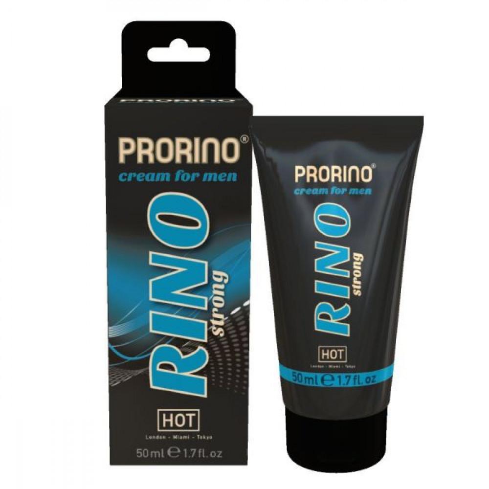 Мужские возбудители - Крем эрекционный  для мужчин  Rino Strong  Cream, 50 мл