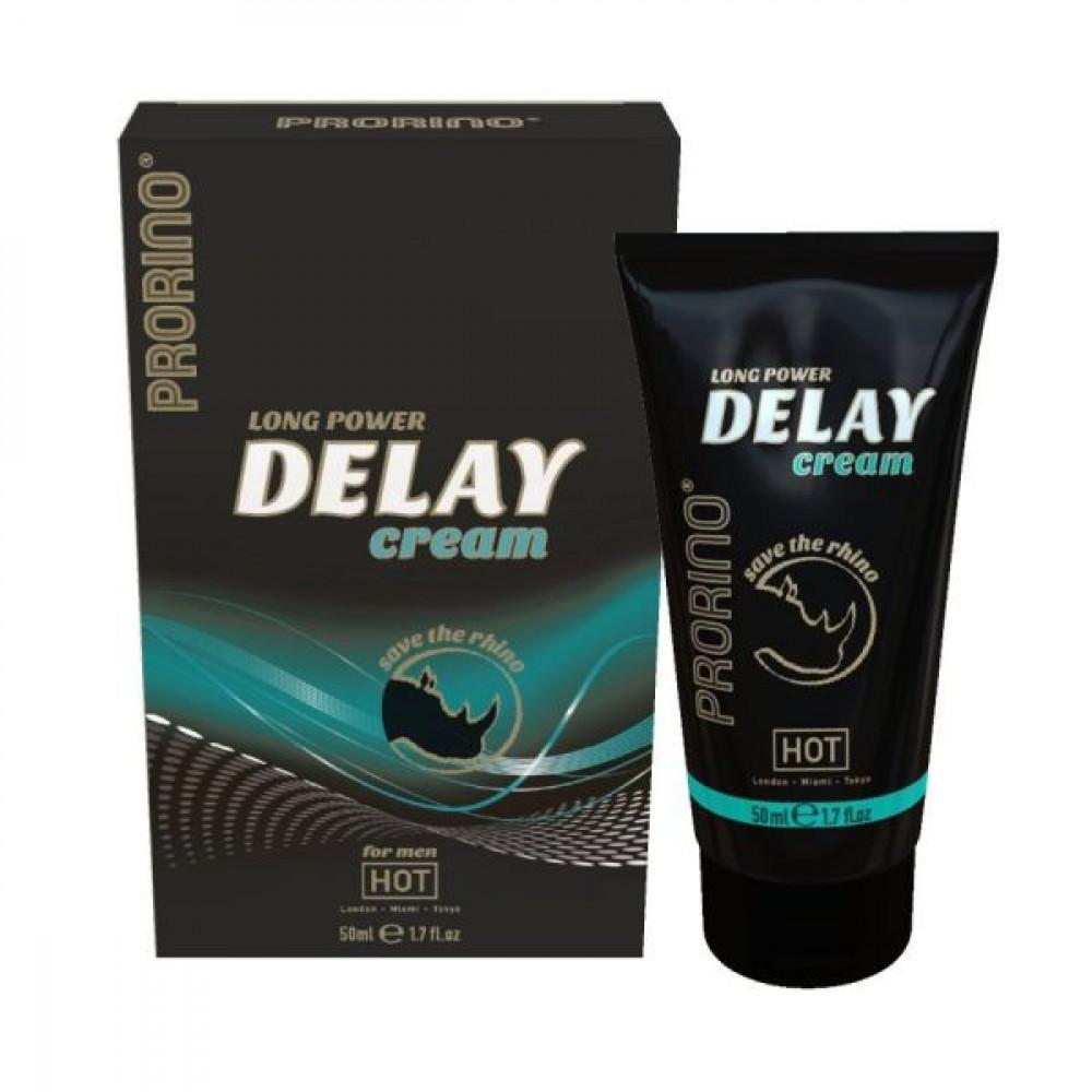 Стимулирующие средства и пролонгаторы - Крем прологантор для мужчин Prorino Delay Cream, 50 мл