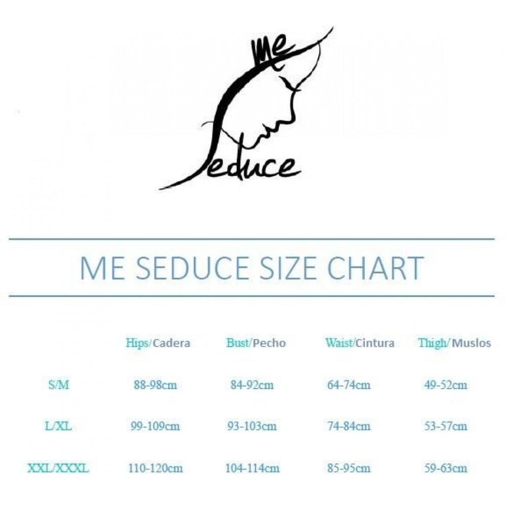 Одежда для БДСМ - Портупея  Me-Seduce Harness 3, Red L\XL 1