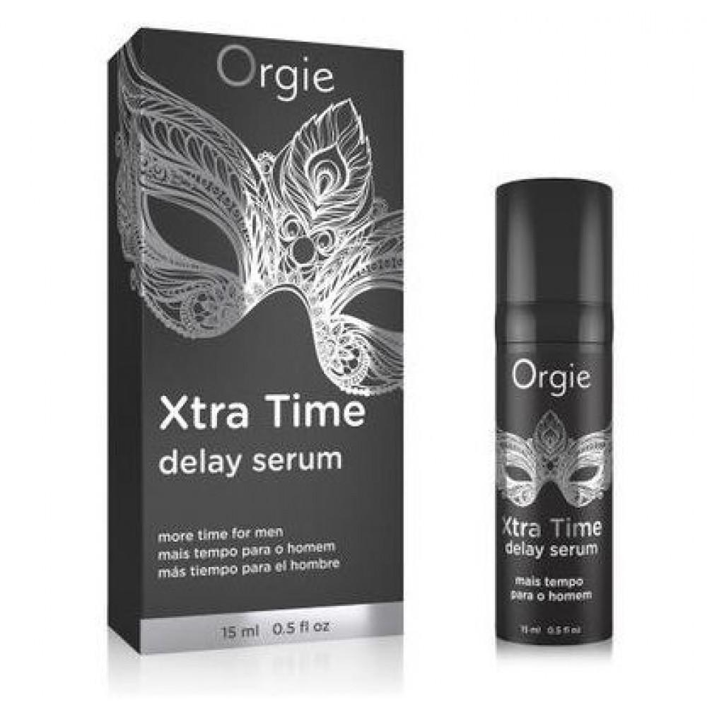 Стимулирующие средства и пролонгаторы - Сыворотка-пролонгатор акта «X-TRA TIME» Delay Serum, 15 мл Orgie