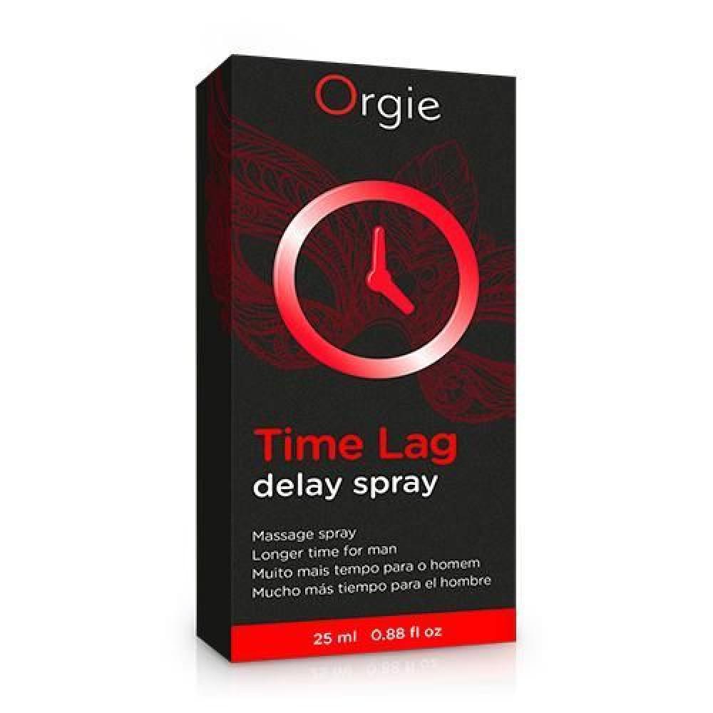 Стимулирующие средства и пролонгаторы - Спрей пролонгатор для мужчин Time Lag Orgie